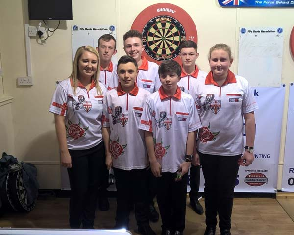 England Youth at British Internationals 2016