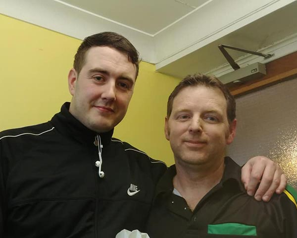 Mark Grimes 9 Darter