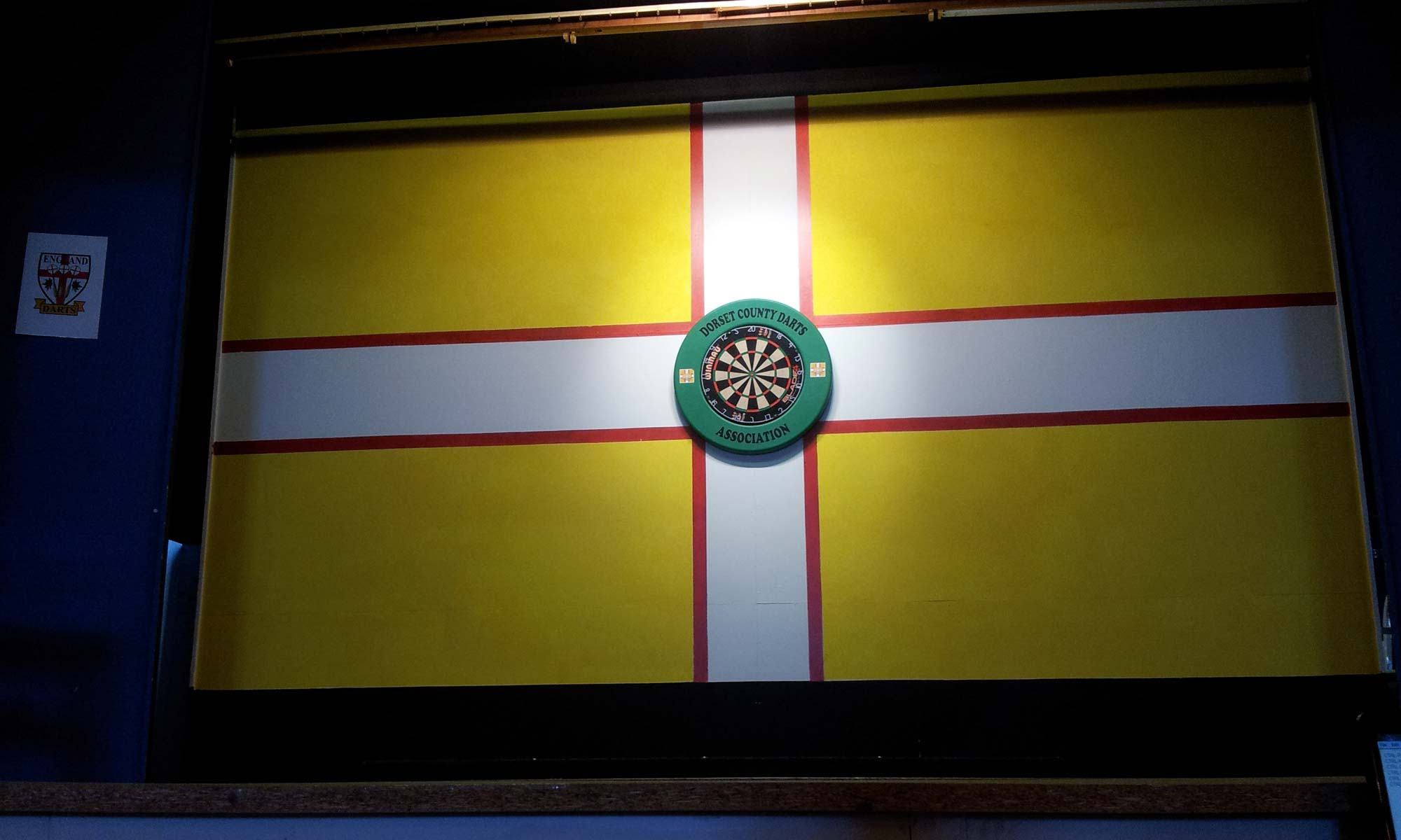 Dorset County Darts Association Stage