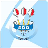 Sussex County Darts Logo