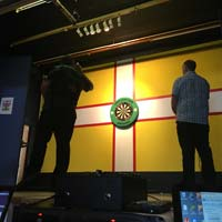 Terry Gowans v Simon Hopkins