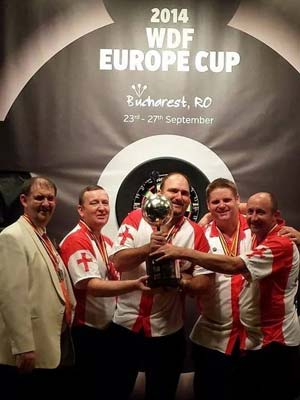 Europe Cup 2014 Champions England - Dorset County Darts Association