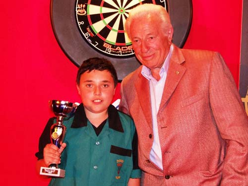 Under 18's Southern Section Youth Champion 2014 - Daniel Perry - Dorset County Darts Association