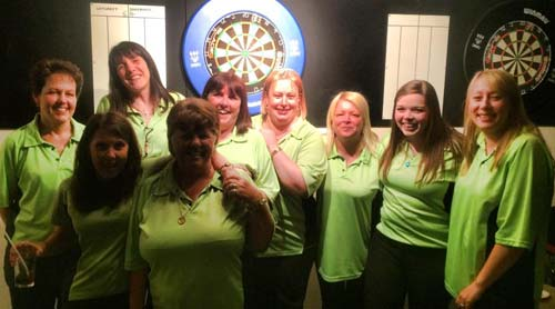 Dorset Superleague Champions Lytchett Ladies 2014-2015