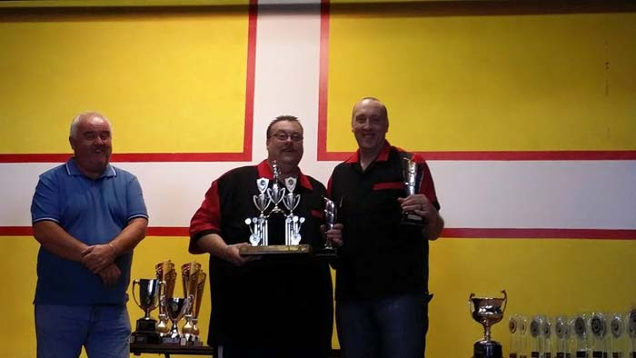 Dorset Superleague Pairs Champions Sherborne Nigel Lamb and Matt Yarrow 2014-2015