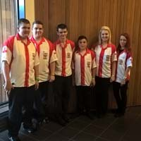 Team England Youth at Europe Cup in Denmark
