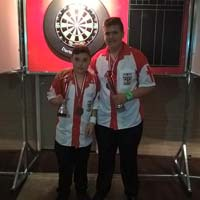 Europe Cup Youth - England Pair 3rd Place - Daniel Perry and Jack Vincent