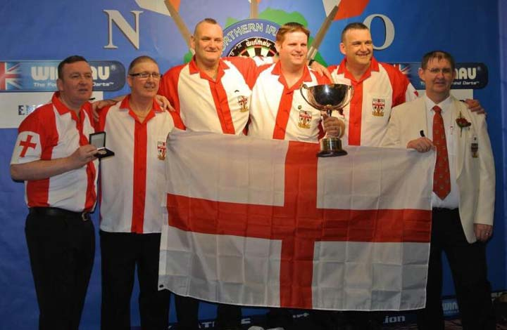 Six Nations Cup 2015 Champions England - Dorset County Darts Association