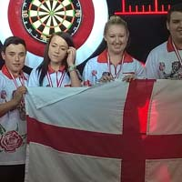 Bronze Medallists - England Youth