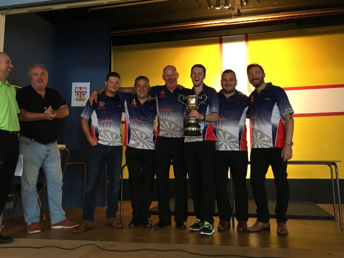 Dorset Superleague Champions Blandford Men 2015-2016