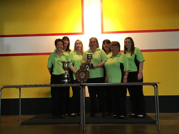 Dorset Superleague Champions Lytchett Ladies 2015-2016