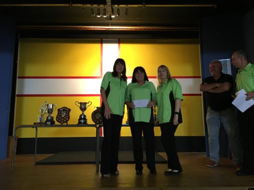 Dorset Superleague Ladies Knock Out Cup Runners-up Lytchett 2015-2016