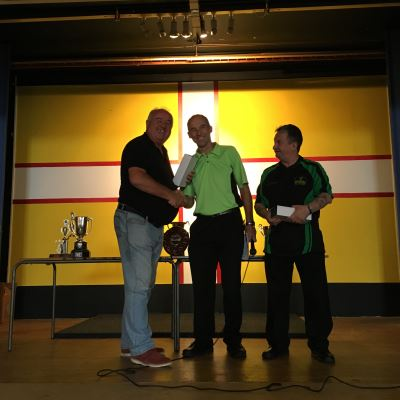 Dorset Superleague Men's Pairs Runners-up Lytchett Mark Porter and John Clark 2015-2016