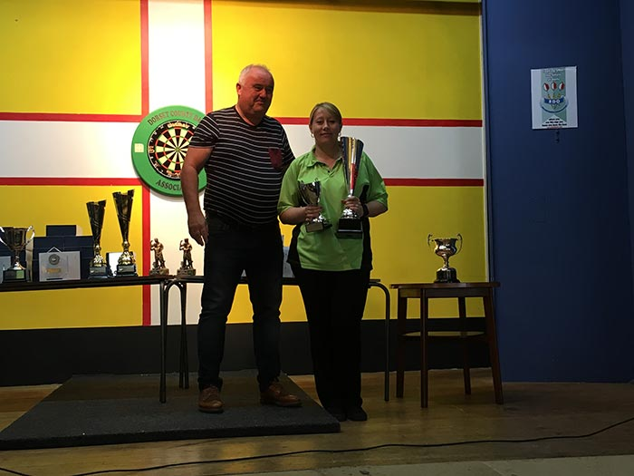 Dorset Superleague Ladies Singles Champion Suzy Trickett 2016-2017