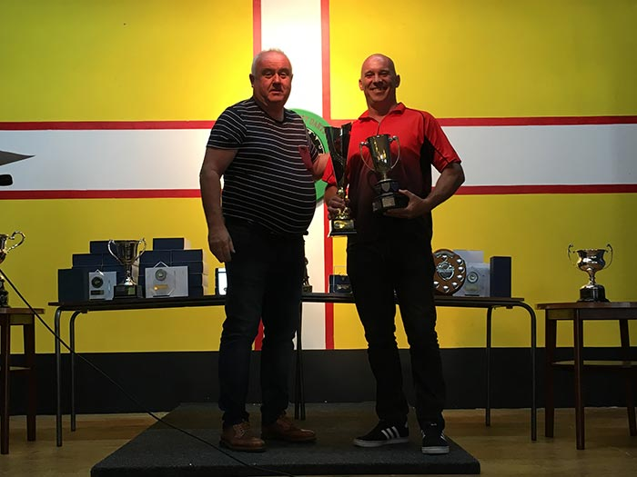 Dorset Superleague Men's Singles Champion Lee Turle 2016-2017
