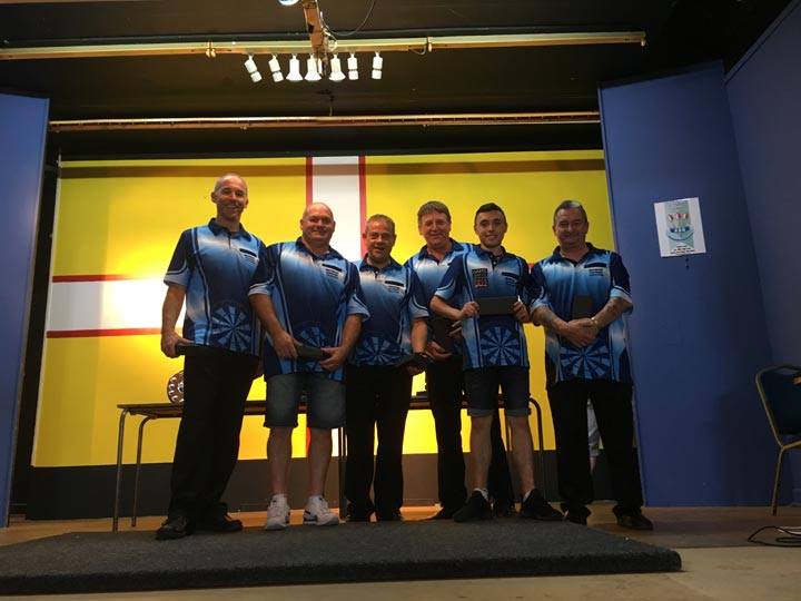 Dorset Superleague Runners-up Lytchett Men 2017-2018