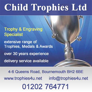 Child Trophies Ltd - Dorset County Darts Association's Trophy Supplier