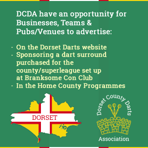 Dorset County Darts Association Sponsorship Opportunities